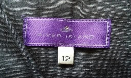 Spódnica ołówkowa szara River Island ( 40 )