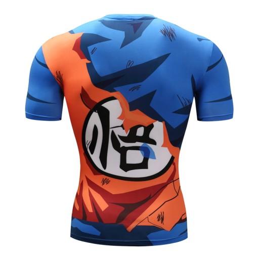 Dragon Ball Rashguard Termoaktywna Battle Goku 2 7496189476 Allegro Pl