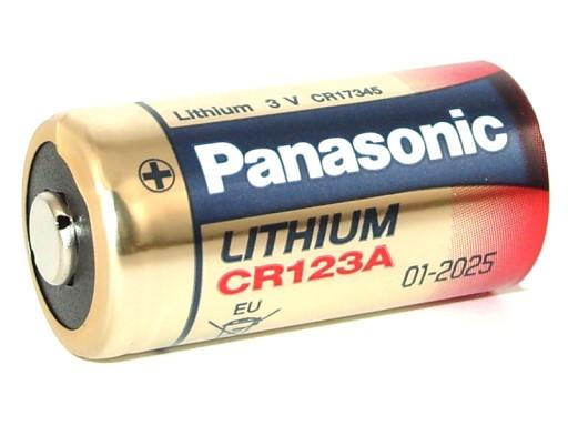 bateria cr123 dl123 cr123a cr17345 3v panasonic 6727531816