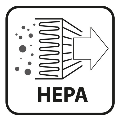 Odkurzacz do popiołu kominka pieca 20L 1000W HEPA