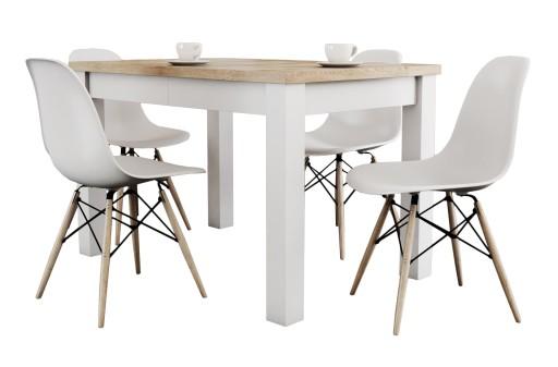 Nowy Zestaw Do Kuchni Stół 80x140180 4 Krzesła