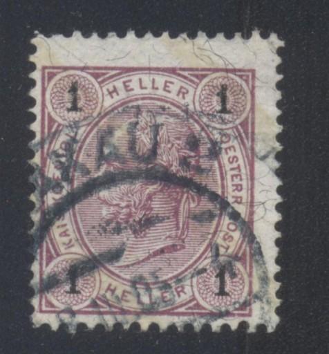 AUSTRIA Mi. 84 KASOWANY (KRAKÓW)