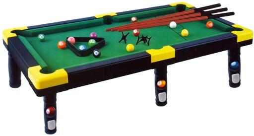 Bilard Snooker Stół Bilardowy Z Akcesoriami 60cm