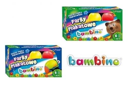 Farby Plakatowe Bambino 6 Kol 20 Ml 01598 W Wa 6927656396 Allegro Pl