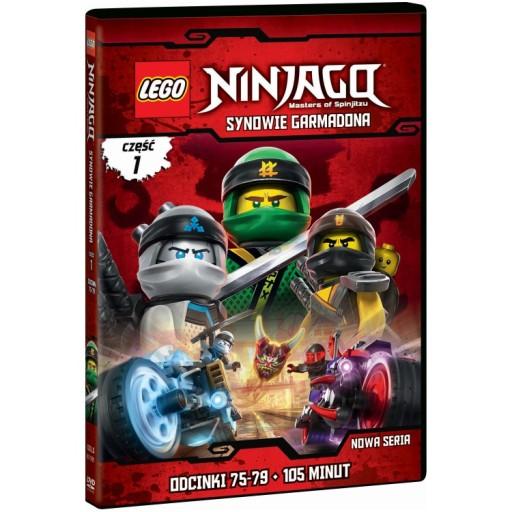 Lego Ninjago Synowie Garmadona Część 1 Dvd Bajka 7610503705