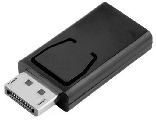 Adapter Przelotka Display Port DP DisplayPort HDMI