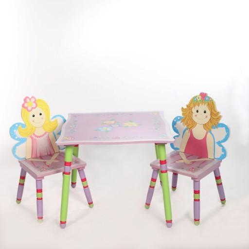 Stolik Z Krzesełkiem Dla Dziewczynki Antyki24