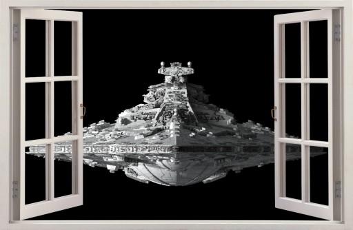 Naklejki Na Sciane Destroyer Star Wars 50 115x75cm 7147499151