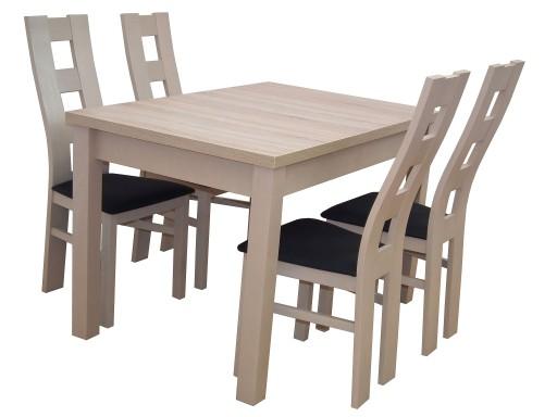 Komplet Do Kuchni Jadalni Stół 4 Krzesła