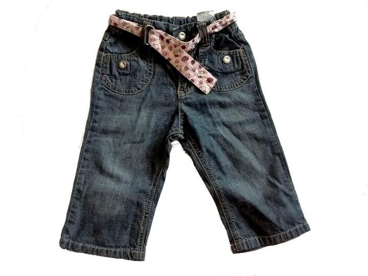 Spodnie jeansy Hello Kitty H&M 9-12 80 cudne 9551697530 Dziecięce Odzież JO PHUGJO-5