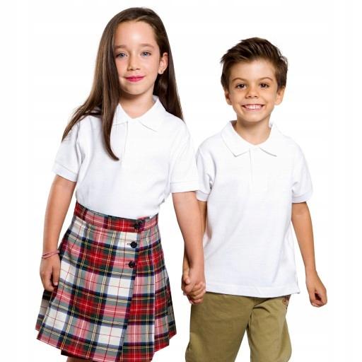 Koszulka POLO DZIECIĘCA JHK 3/4 lata 116cm kolory 7605618841 Dziecięce Odzież KT JLJAKT-2