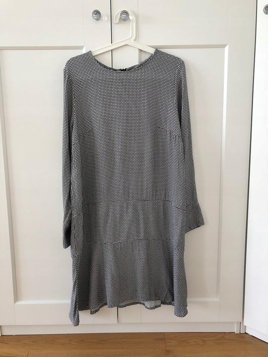 Sukienka H&M Trend 42 falbana WISKOZA 9559516869 Odzież Damska Sukienki LW ZRHULW-9